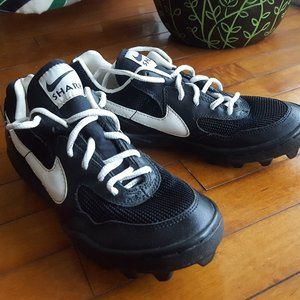 Nike Shark cleats athletic shoes unisex sz 5 men